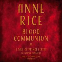 Cover image for Blood communion