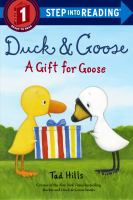 Cover image for Duck and Goose : a gift for Goose