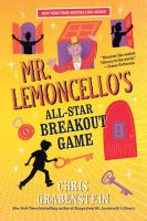 Cover image for Mr. Lemoncello's all-star breakout game