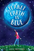 Cover image for Planet earth is blue