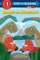 Cover image for Double the dinosaurs : a math reader