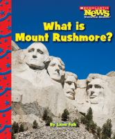 Cover image for What is Mount Rushmore?