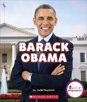 Cover image for Barack Obama : groundbreaking president