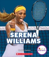 Cover image for Serena Williams : a champion on and off the court