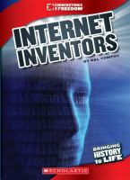 Cover image for Internet inventors