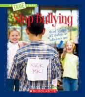 Cover image for Stop bullying