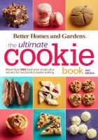 Cover image for The ultimate cookie book : more than 500 best-ever treats plus secrets for successful cookie baking.