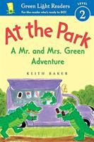 Cover image for At the park : a Mr. and Mrs. Green adventure