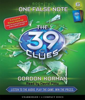 Cover image for The 39 clues. 2, One false note