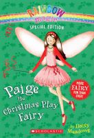Cover image for Paige the Christmas play fairy