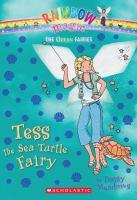 Cover image for Tess the sea turtle fairy