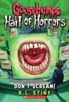 Cover image for Don't scream!