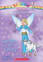 Cover image for Leona the unicorn fairy