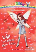 Cover image for Lola the fashion show fairy