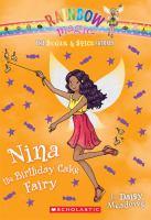Cover image for Nina the birthday cake fairy