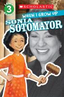 Cover image for Sonia Sotomayor