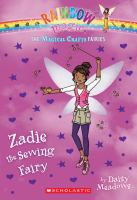 Cover image for Zadie the sewing fairy