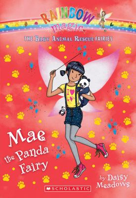 Cover image for Mae the panda fairy