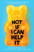 Cover image for Not if I can help it