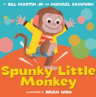 Cover image for Spunky little monkey