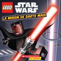 Cover image for La misión de Darth Maul