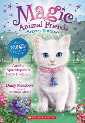 Cover image for Amelia Sparklepaw's party problem
