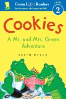Cover image for Cookies : a Mr. and Mrs. Green adventure
