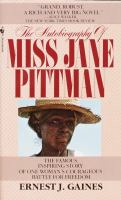Cover image for The autobiography of Miss Jane Pittman