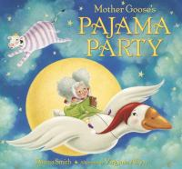 Cover image for Mother Goose's pajama party