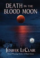 Cover image for Death in the blood moon
