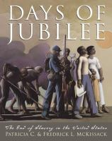 Cover image for Days of Jubilee : the end of slavery in the United States