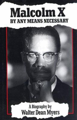 Cover image for Malcolm X : by any means necessary : a biography