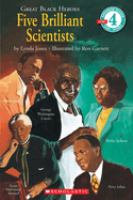 Cover image for Five brilliant scientists
