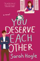 Cover image for You deserve each other
