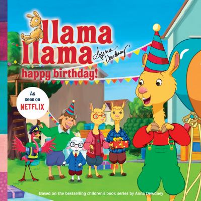 Cover image for Llama Llama happy birthday!