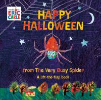 Cover image for Happy Halloween from the very busy spider