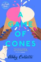 Cover image for A game of cones
