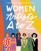 Cover image for Women artists A to Z