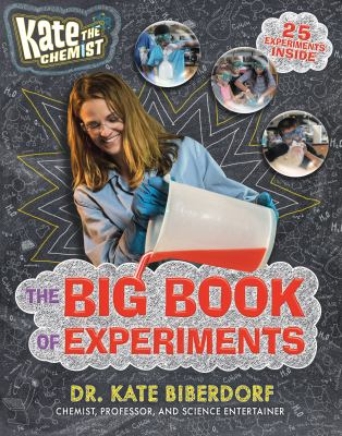 Cover image for Kate the chemist : the big book of experiments