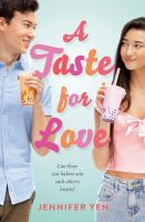 Cover image for A taste for love