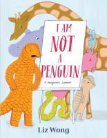 Cover image for I am not a penguin