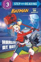 Cover image for Harley at bat!