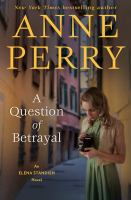 Cover image for A question of betrayal