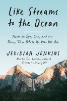 Cover image for Like streams to the ocean : notes on ego, love, and the things that make us who we are
