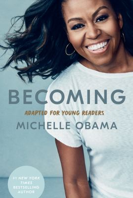 Cover image for Becoming : adapted for young readers