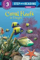 Cover image for Coral reefs in danger