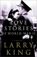 Cover image for Love stories of World War II