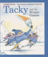 Cover image for Tacky and the Winter Games