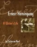 Cover image for Ernest Hemingway : a writer's life