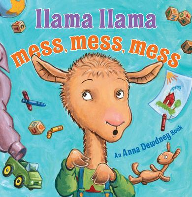 Cover image for Llama Llama mess, mess, mess